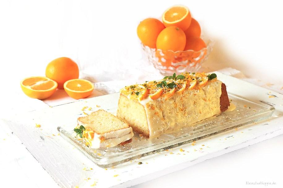 Sinalco-Orangenkuchen - veganes Backrezept mit Sinalco Limonade Orange