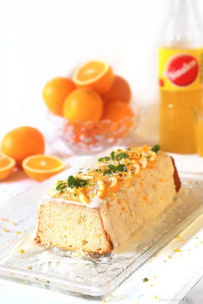 Sinalco-Orangenkuchen - feine, vegane Backrezepte von Kleinstadthippie