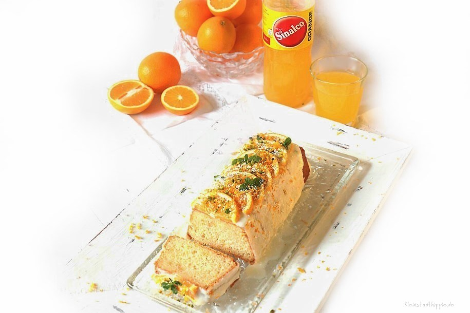 Sinalco-Orangenkuchen veganer Limokuchen