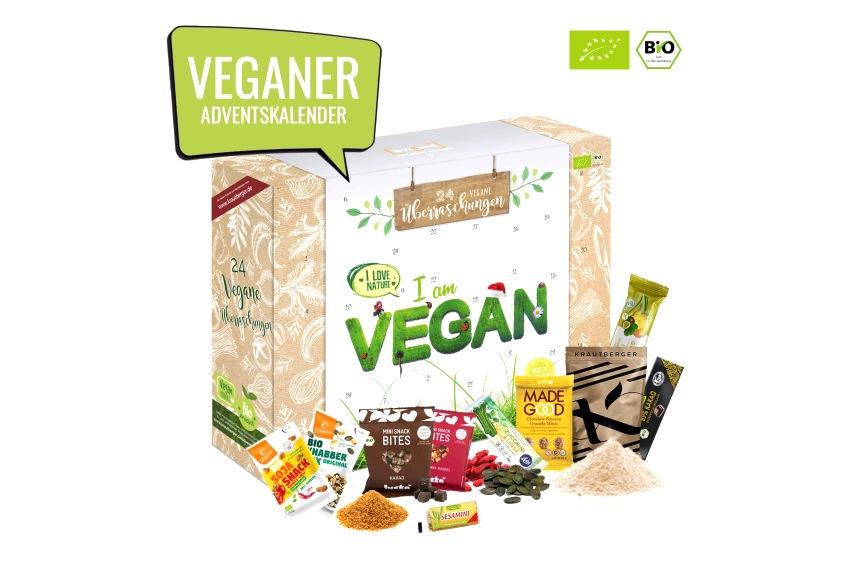 Veganer Adventskalender - Adventskalender vegan