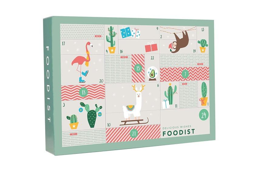 Foodist Veganer Active Adventskalender mit 24 aufregenden Snacks, Superfoods und Trendfoods - Veganer Adventskalender - Adventskalender vegan
