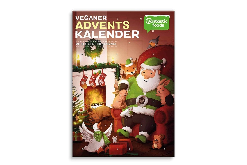 Adventskalender vegan - Veganer Adventskalender -