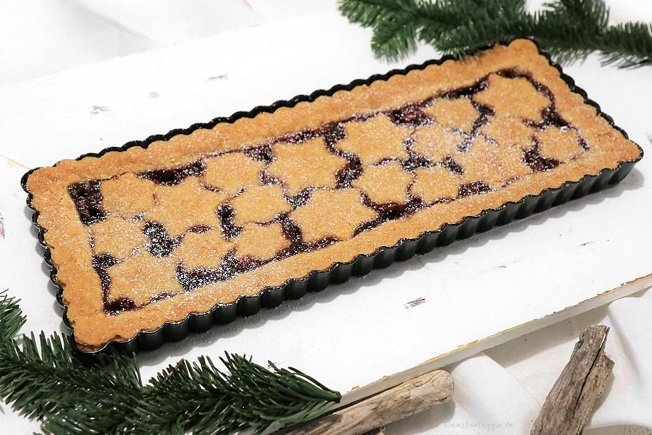 Weihnachtliche Linzer Torte / Linzer Tarte