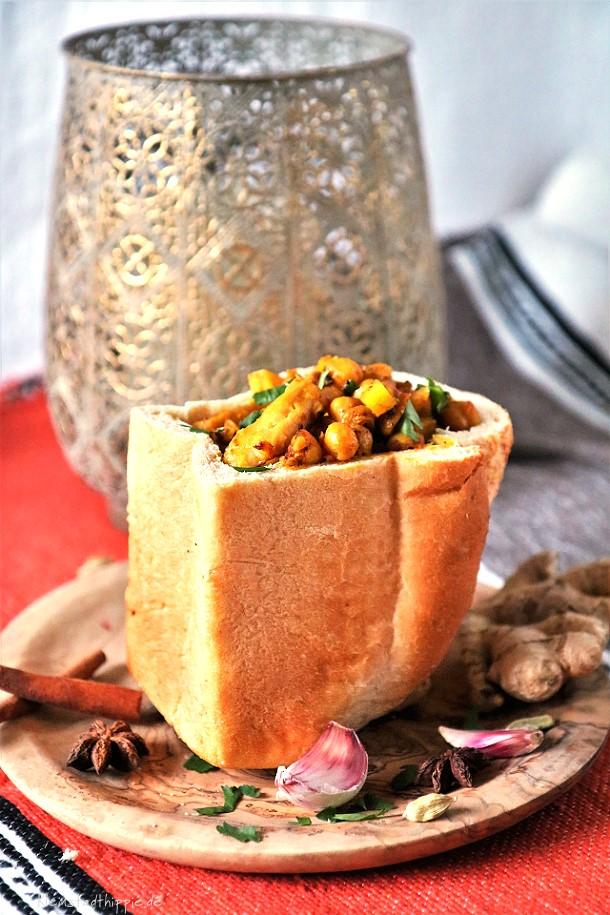 Bunny Chow - Südafrikanisches Street Food
