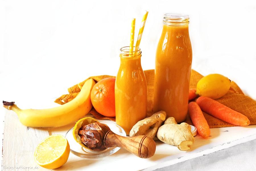 Karotten-Orangen-Smoothie