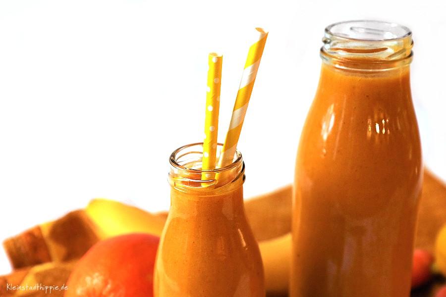 Karotten-Orangen-Smoothie von Kleinstadthippie - vegan