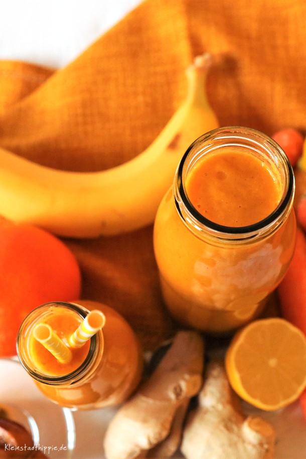 Rezept für Karotten-Orangen-Smoothie
