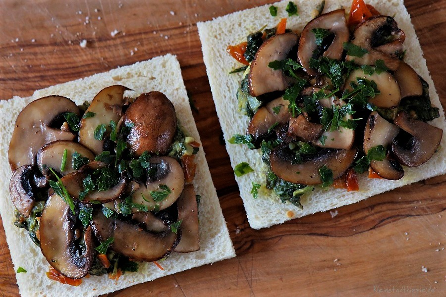 Füllung für vegane Sandwich