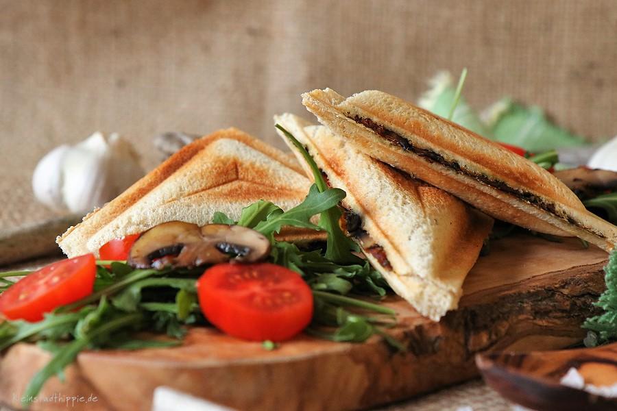 Veggie Sandwich Toast