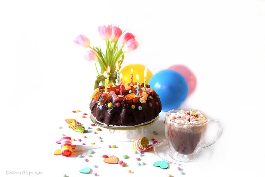 Schokoladenkuchen für den Kindergeburtstag