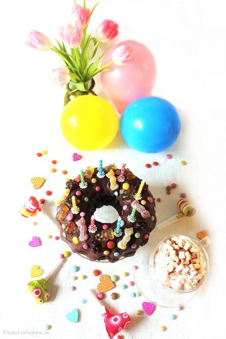 Veganer Schokoladenkuchen für den Kindergeburtstag