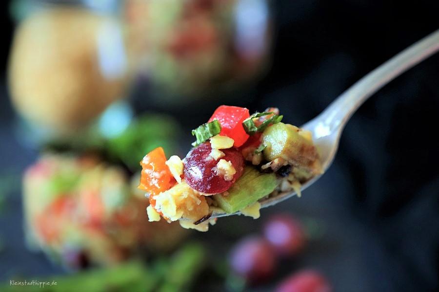 Linsensalat - vegan - proteinreich