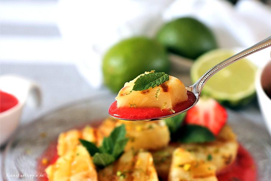 Ananas grillen - Obst grillen