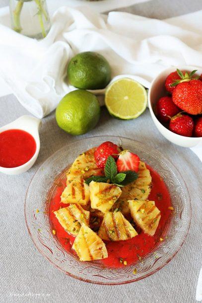 Vegan grillen - Dessert