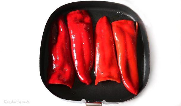 Grillpaprika aus dem Airfryer