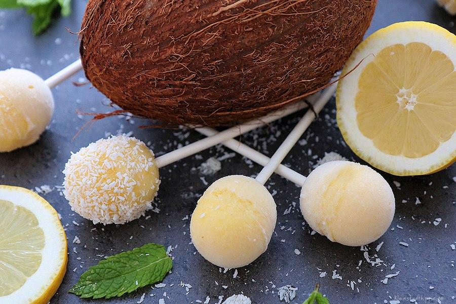 Mango-Kokos-Eis-Lollis