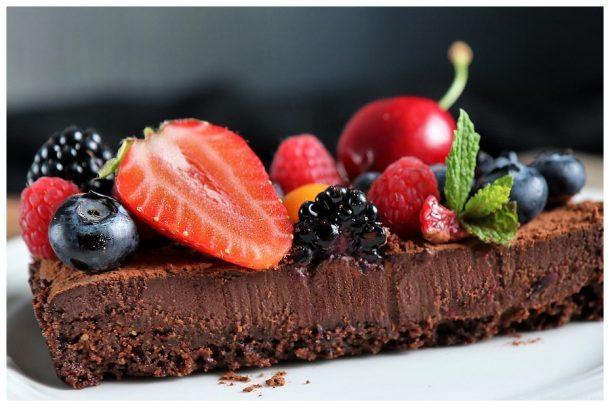 vegane Schokoladen-Tarte