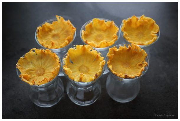 Ananasblüten Ananasblumen Blumen aus Ananas