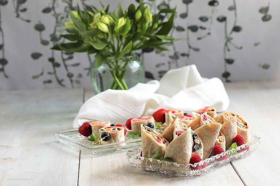 Süße Wraps / Früchtewraps