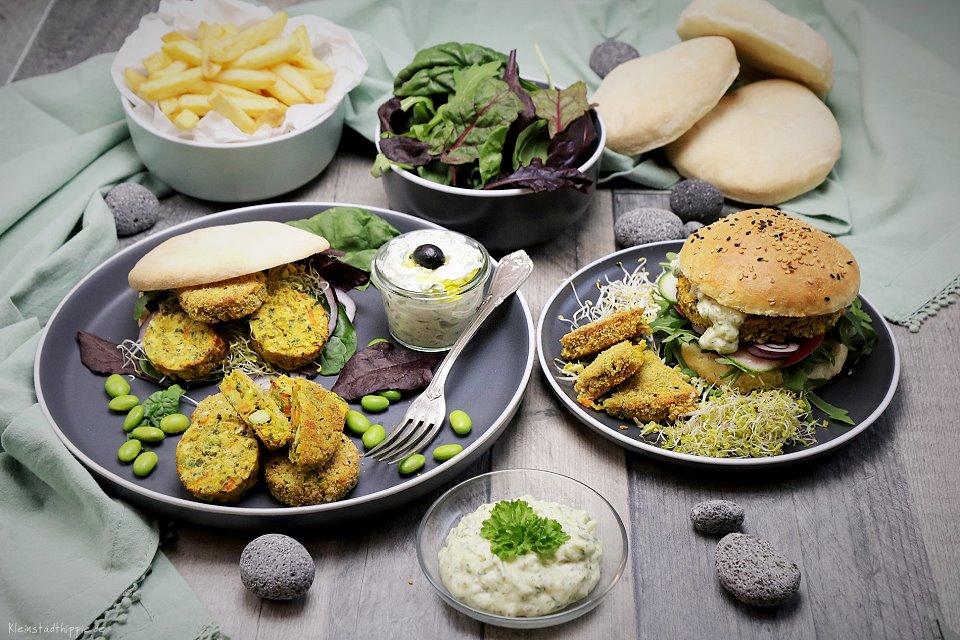 GreenDate mit Burger Buns und Pitabrot