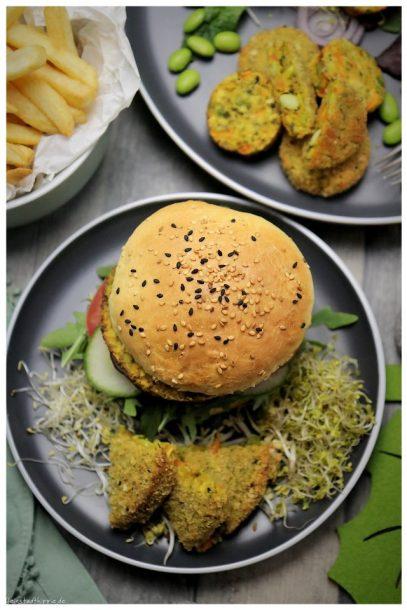 Green Date mit Burger Buns & Pitabrot