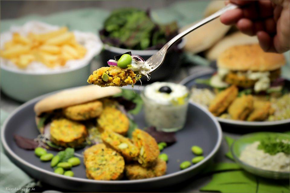 GreenDate mit Burger Buns und Pitabrot - Zutaten, die man sehen und schmecken kann
