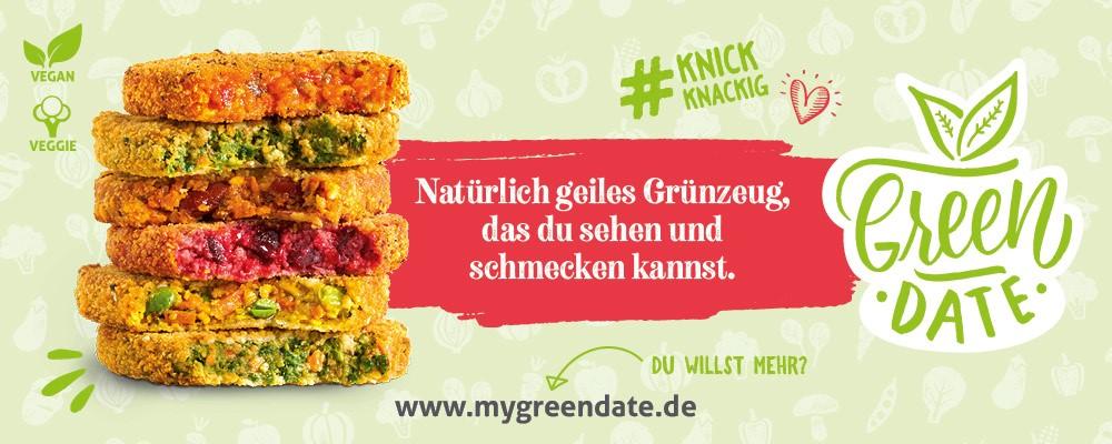 Superfood - GreenDate - Grünzeug - vegan mit Biss