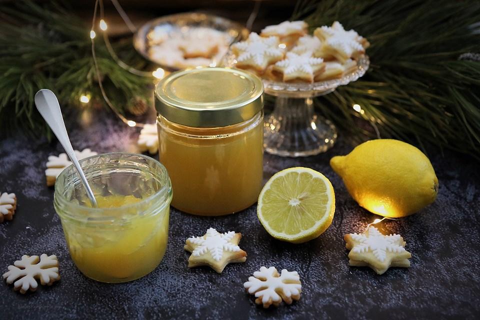 Zitronenplätzchen / Zitronenschneeflocken