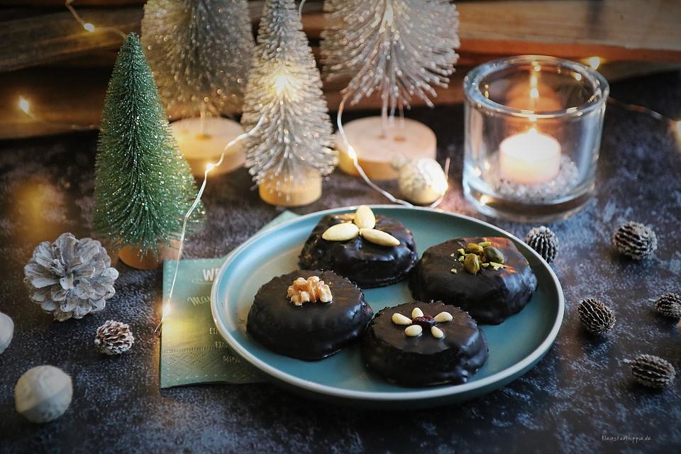 Barbaras Lebkuchen – vegane Schokoladenlebkuchen