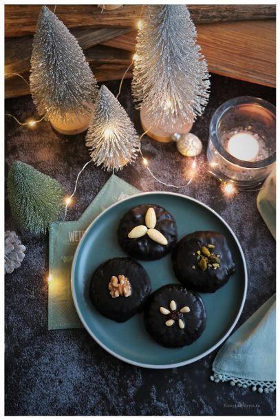 Barbaras vegane Schokoladenlebkuchen