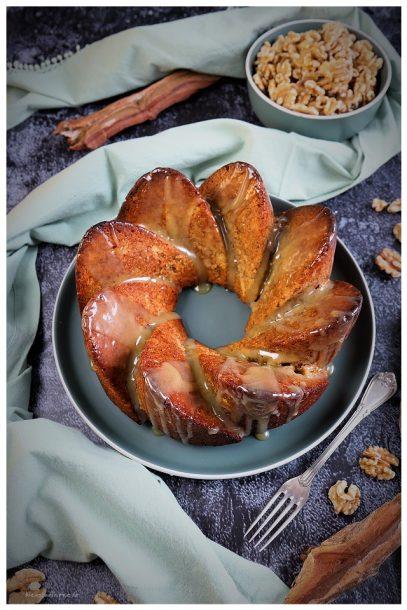 Walnuss-Birnenkuchen