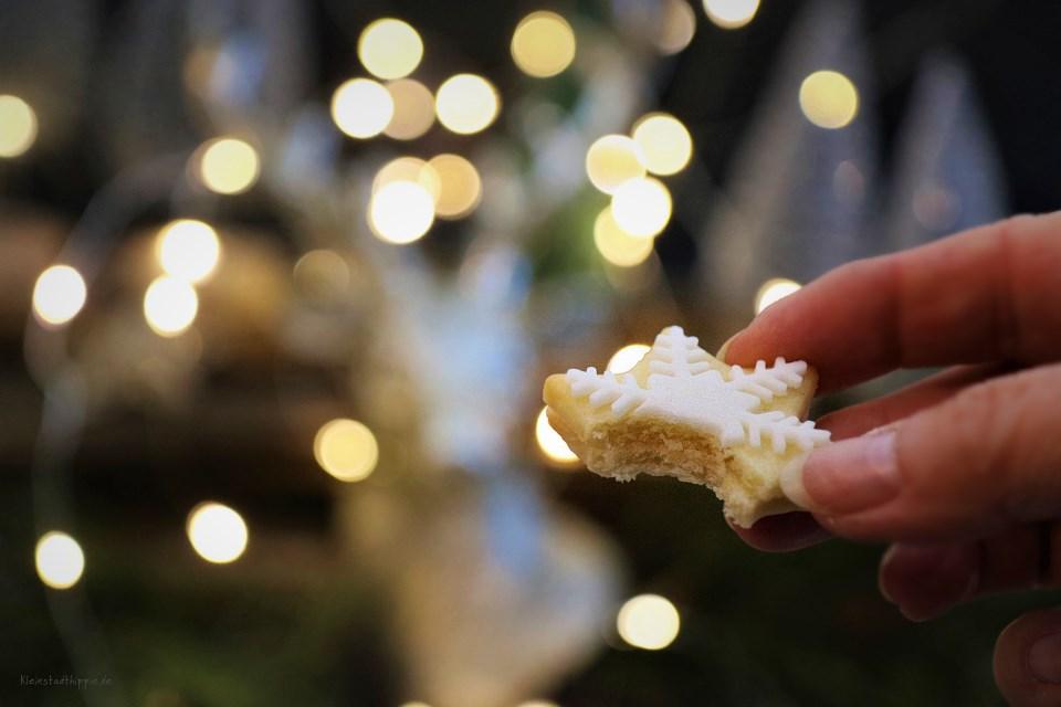 Vegane Weihnachtsplätzchen mit Lemon Curd