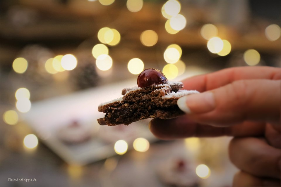 Vegane Plätzchen von Kleinstadthippie Schokoladenplätzchen
