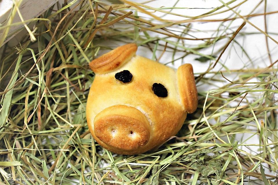 Neujahrsschweinchen Silvesterschwein vegan lactosefrei