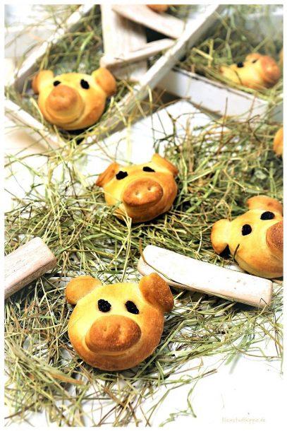Silvesterschweinchen / Glücksschweinchen
