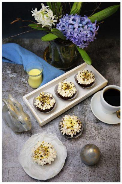 vegane Eierlikör-Cupcakes