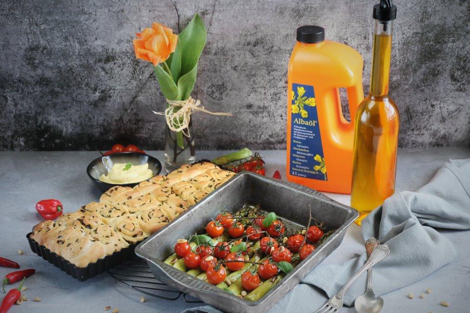 Albaöl mit Buttergeschmack.