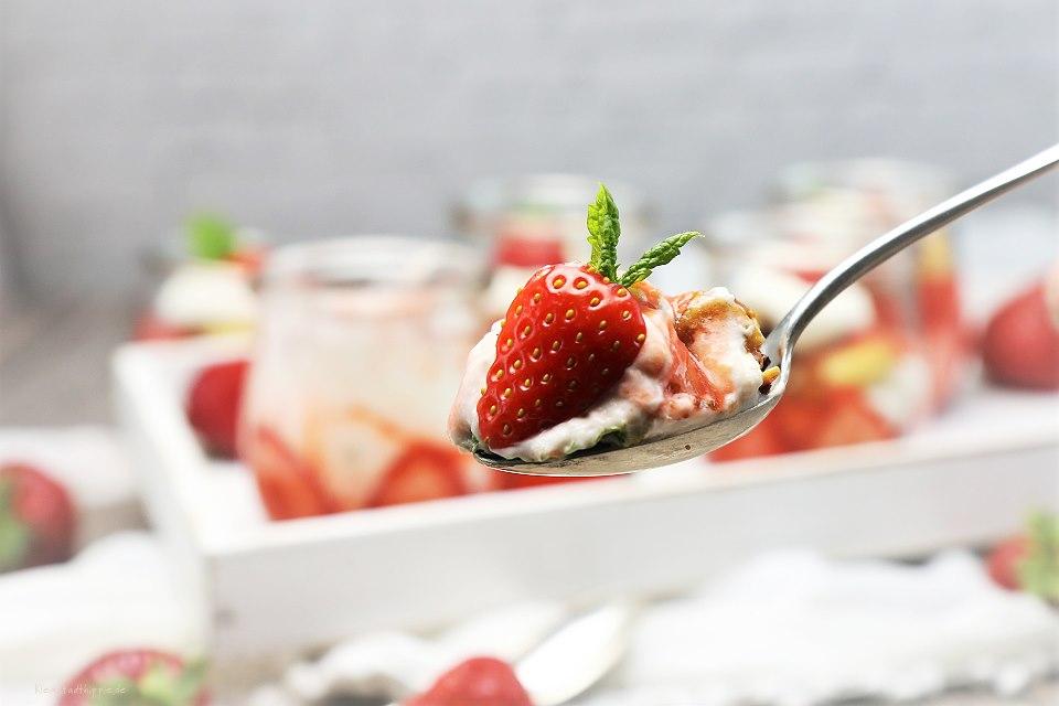 Vegane Erdbeerrezepte - Vegane Rezepte mit Erdbeeren - Vegane Rezepte - Vegan kochen und backen - Veganer Food Blog Kleinstadthippie